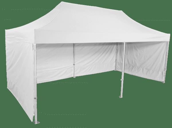Pavilion de grădină 3x6m - Profesional din aluminiu hexagonal