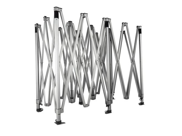 Structură  profil hexagonal profesional 50 - 6x3m