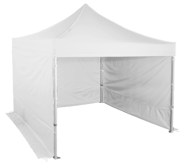 Pavilion de grădină 3x3m - Profesional din aluminiu hexagonal