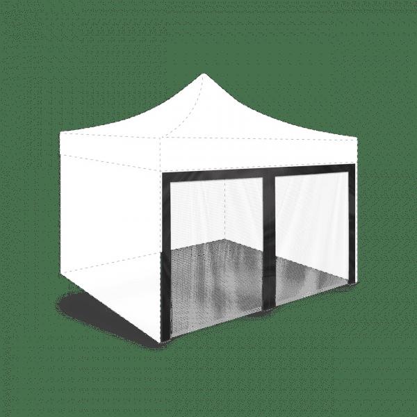 Plasă anti-țânțari pentru cort hexagonal